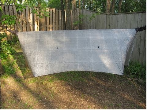Medium image of cuben fiber tarp by hammockgear
