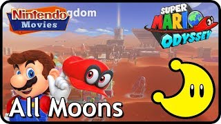 Video Super Mario Odyssey - Sand Kingdom - All Moons (in order with timestamps) download MP3, 3GP, MP4, WEBM, AVI, FLV Oktober 2018