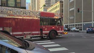 Chicago Fire Department Truck 3 Responding (read Description )