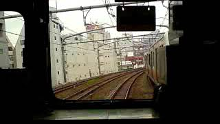 中央線201系H4編成四ツ谷→新宿(080424 1104~01)