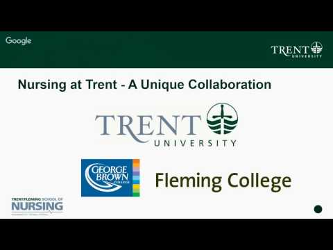 Trent/Fleming School of Nursing: The Trent Advantage Webinar