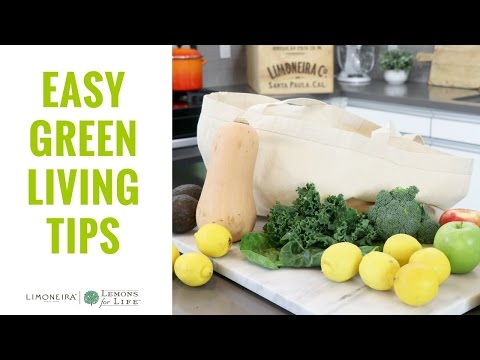 Easy Eco-Friendly & Green Living Tips | Home + Lifestyle With Limoneira