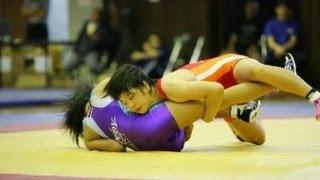 平成26年度全国中学生選手権【女子W52kg級決勝】