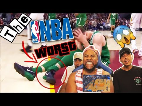 NBA Worst Injuries Of 2017 2018 Season Scary REACTION
