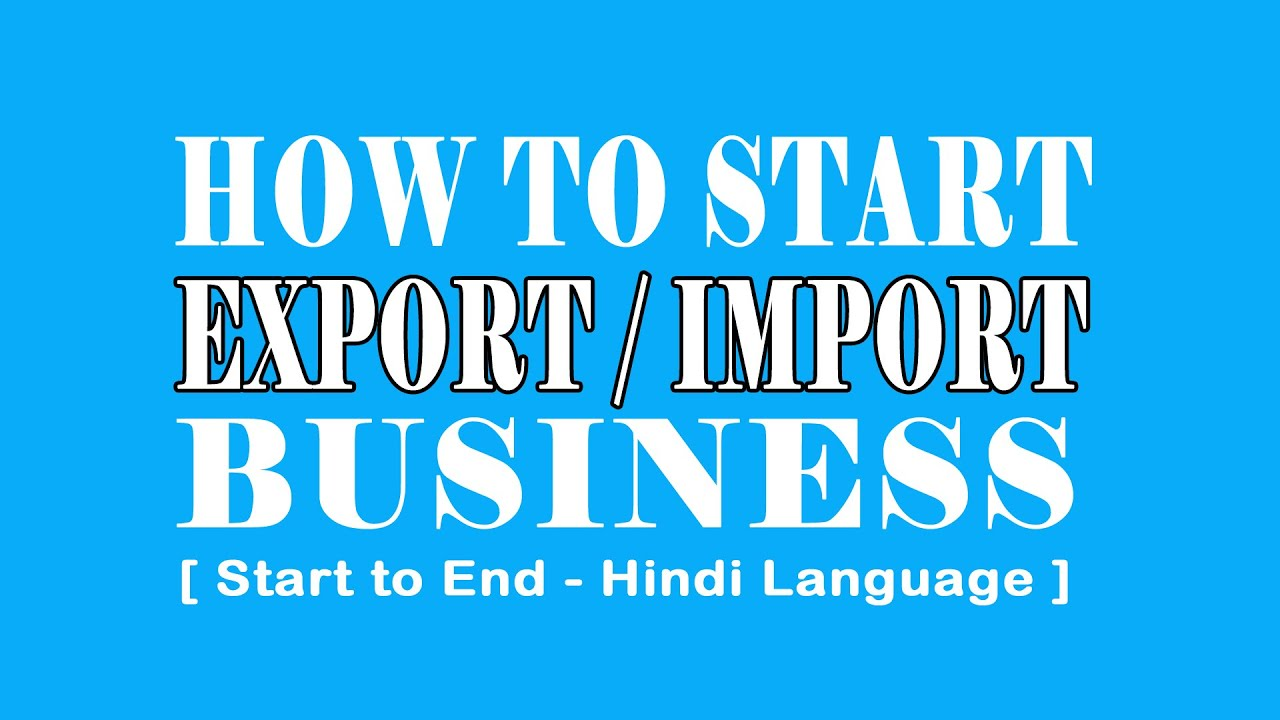 images How to Start an Export Business