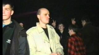Олег Орлов танцует, Рыба раздаёт листовки:) 1997 год.