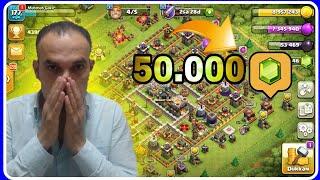 50.000 YEŞİL TAŞ ALMAK Clash Of Clans
