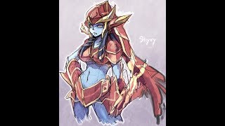 More Shyvana action