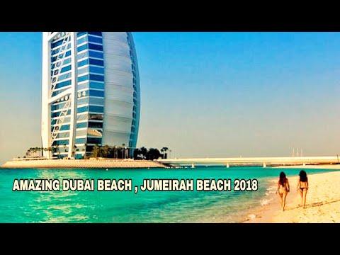 AMAZING DUBAI BEACH , JUMEIRAH BEACH 2018