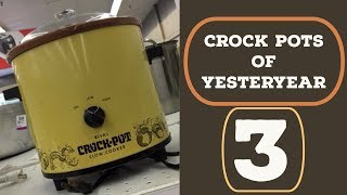 Thrifting - CROCK POTS of YESTERYEAR 3 ~ Vintage Finds ~
