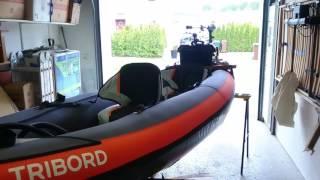 Inflatable Kayak motor,engine mount, Bracket. Itiwit 3
