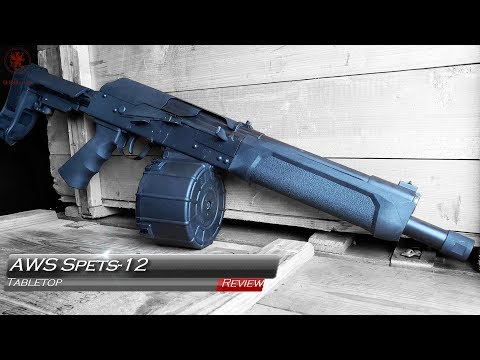 AWS Spets-12 Firearm Tabletop Review