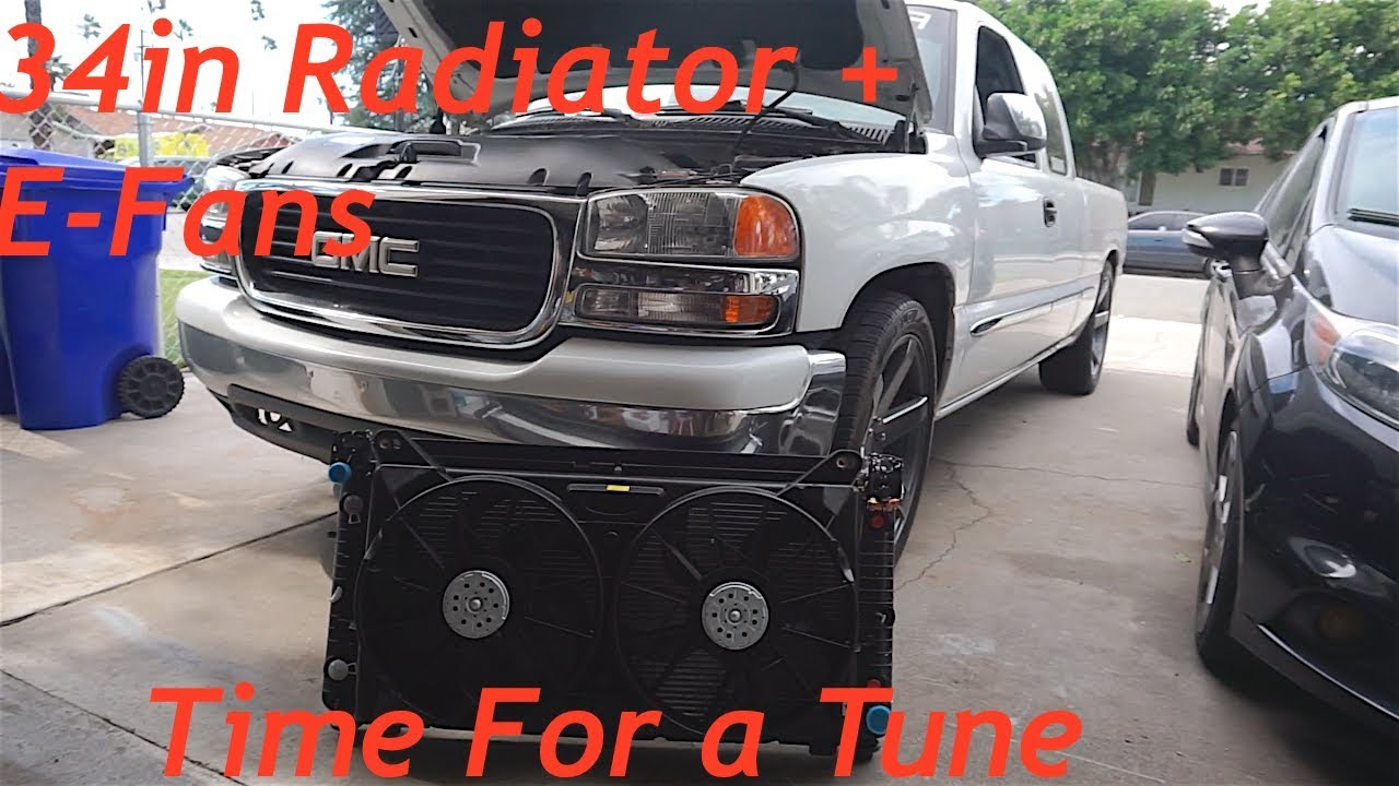 Electric Fan Conversion 99 04 Sierra Silverado 1080p Hd