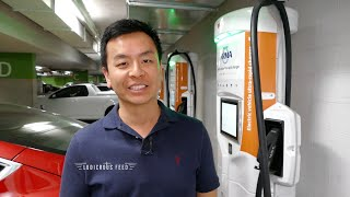 Sydney's fastest Electric Vehicle Charger (and it's free!)