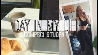Day in my Life Vlog | Computer Science Student