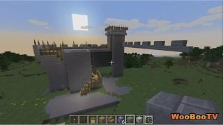 LASTENOHJELMIA SUOMEKSI - Minecraft linnan rakennus projekti - osa 2