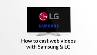 Samsung Smart TV: Stream web videos and livestreams from iPhone / iPad / Android(Stream your favorite online web videos from iPhone or iPad to your Samsung Smart TV with the free app 'Video & TV Cast for Samsung Smart TV' You can ..., 2015-03-26T13:45:40.000Z)