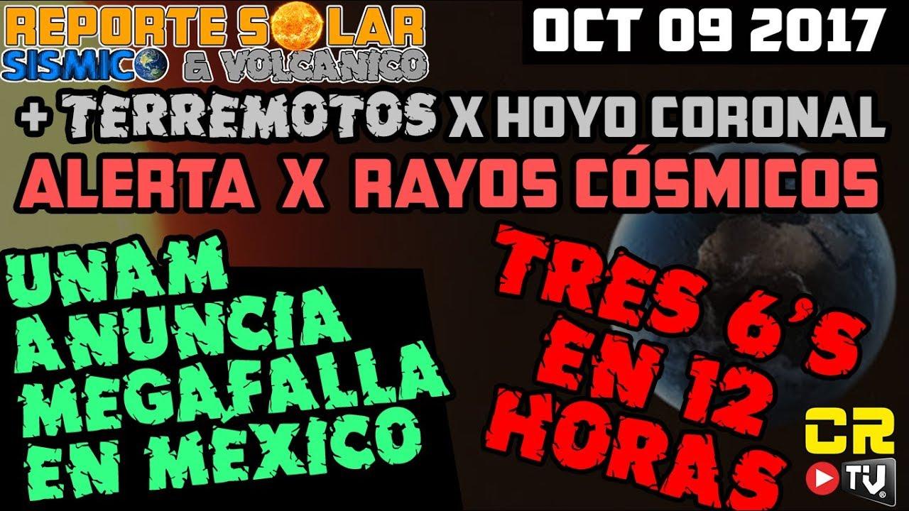 Descubren Megafalla En Mexico Rayos Cosmicos Reporte Solar