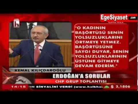 Kılıçdaroğlu'ndan Erdoğan'a 11 Soru 'AHLAKLIYSAN YANITLA'