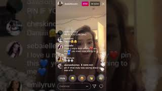 DANIELLE COHN TALKS ABOUT THE LIES MALU TREVEJO SAID ABOUT HER
