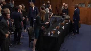 LIVE Now | Google, Facebook, and Twitter testify before U.S. Senate | Voilent content online