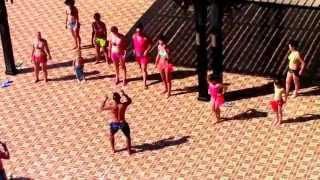 25. Египет. Хургада. Отель Nubia Agua Beach Resort 5*.   Уроки танца живота.