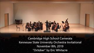 Eric Whitacre 'October' - String Orchestra