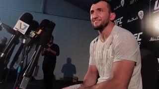 Муслим Салихов: «Хочу выступить в Москве!» Интервью после боя