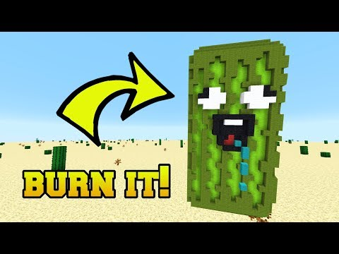 IS THAT A PICKLE?!? BURN IT!!!