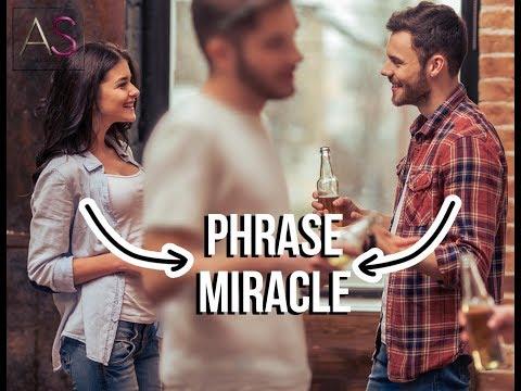 La phrase MIRACLE pour aborder n'importe quel inconnu sans paraitre bizarre !