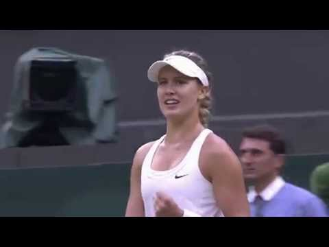 Bouchard wraps up big win v Cornet - Wimbledon 2014