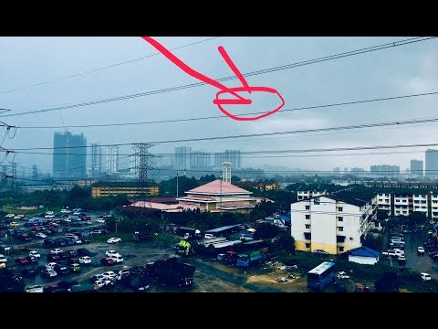 Beautiful rain in Malaysia | Heavy Rain and Wind Sounds For Sleeping / Relaxation - Nature game