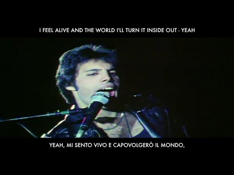 Queen - Don't Stop Me Now (Lyrics In Italian & English / Testo in Inglese e Italiano)