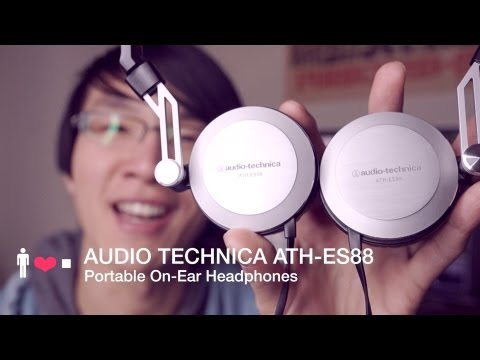 Audio Technica ATH-ES88 Headphone Review: Lightweight, Quality Portable Sound