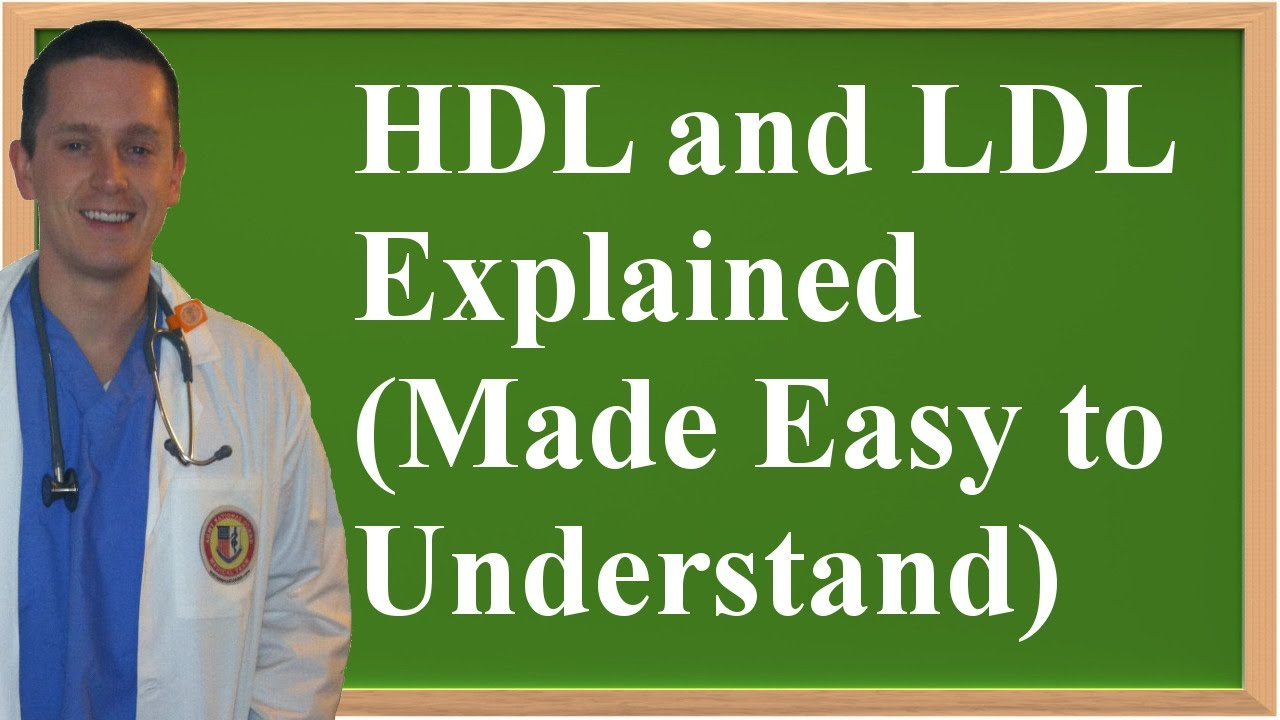 hdl and ldl explained made easy to understand youtube. Black Bedroom Furniture Sets. Home Design Ideas