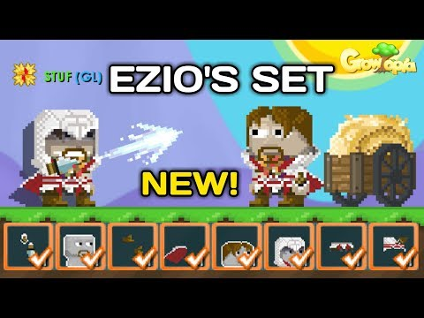 NEW! EZIOS SET FROM ASSASINS CREED  Growtopia News