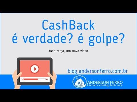 CashBack - Como Funciona? É Verdade? É Golpe? É Pirâmide? | Anderson Ferro