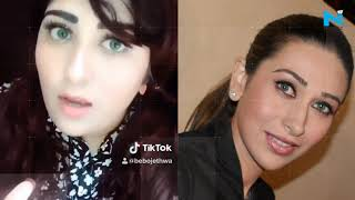 After Salman Khan, Madhubala, Karisma kapoor's lookalike makes way to TikTok