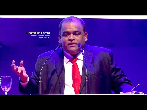 Dhammika Perera ,Chairman of Vallibel One - Chartered Accountants Conference 2016 BMICH  Sri Lanka