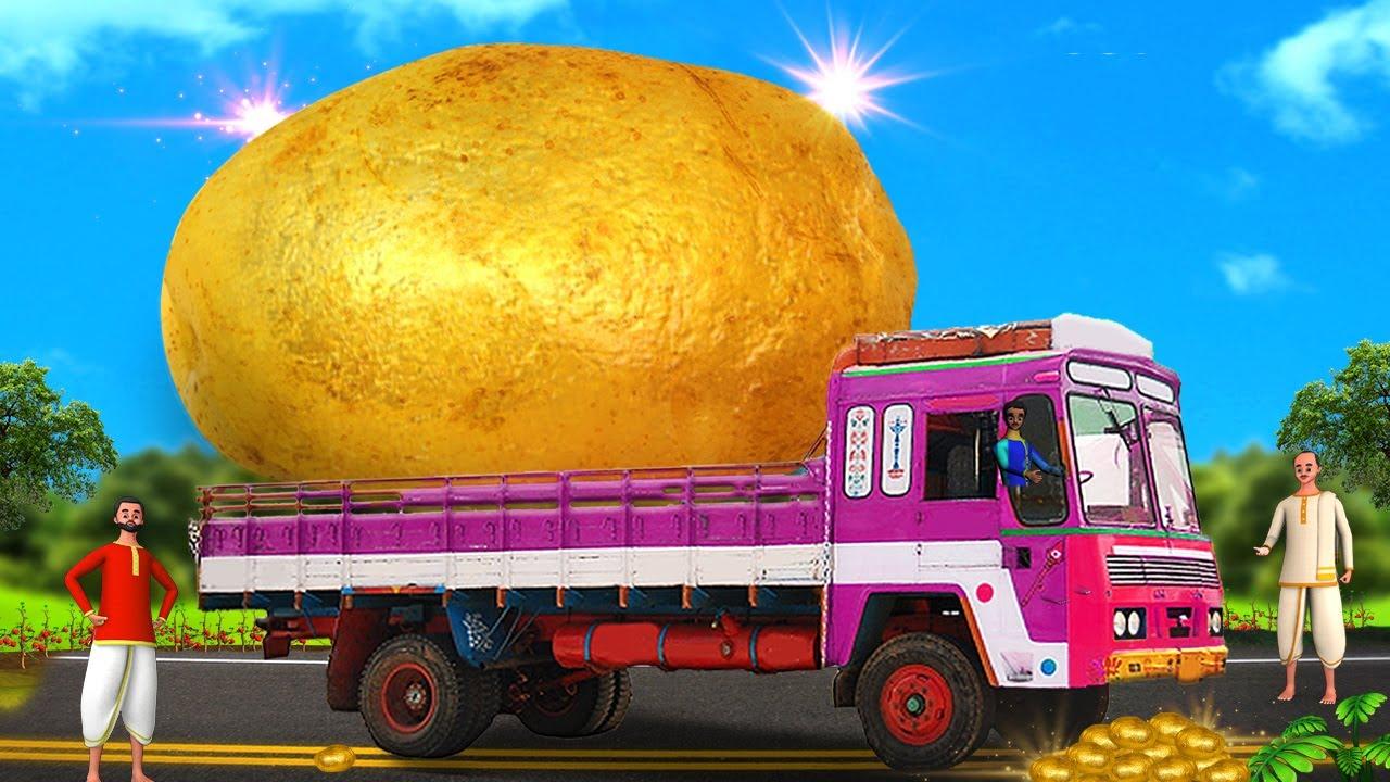 தங்க உருளைக்கிழங்கு - Golden Potatoes Tamil Story | 3D Animated Tamil Fairy Moral Stories | MaaMaaTV