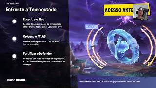 SALVE O MUNDO -MISSOES DA PLANKTON AO VIVO Fortnite battle royale #ps4