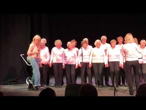 Pixie Lott singing Boys and Girls with Upminster Golf Club Ladies' Choir