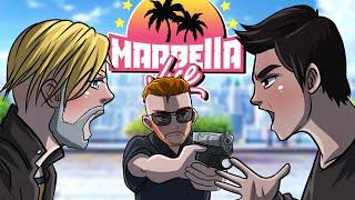AURON y KUN AGUERO me intentan ENGAÑAR con R! MARBELLA VICE R EL POLICIA Episodio 3
