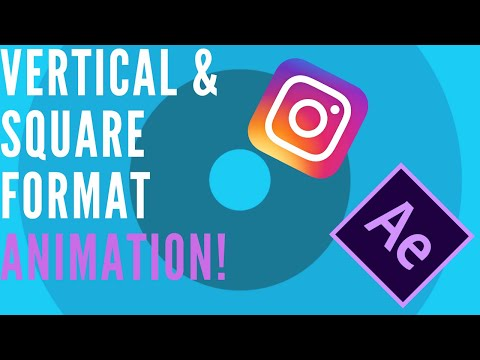 Vertical & Square Video Animation for Instagram | After Effects Tutorial thumbnail