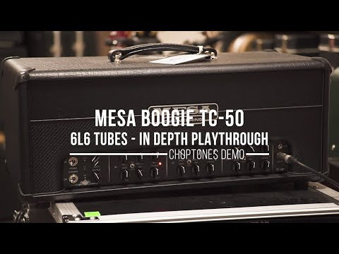 Mesa Boogie Triple Crown TC-50 | In Depth Playthrough (6L6 Tubes)