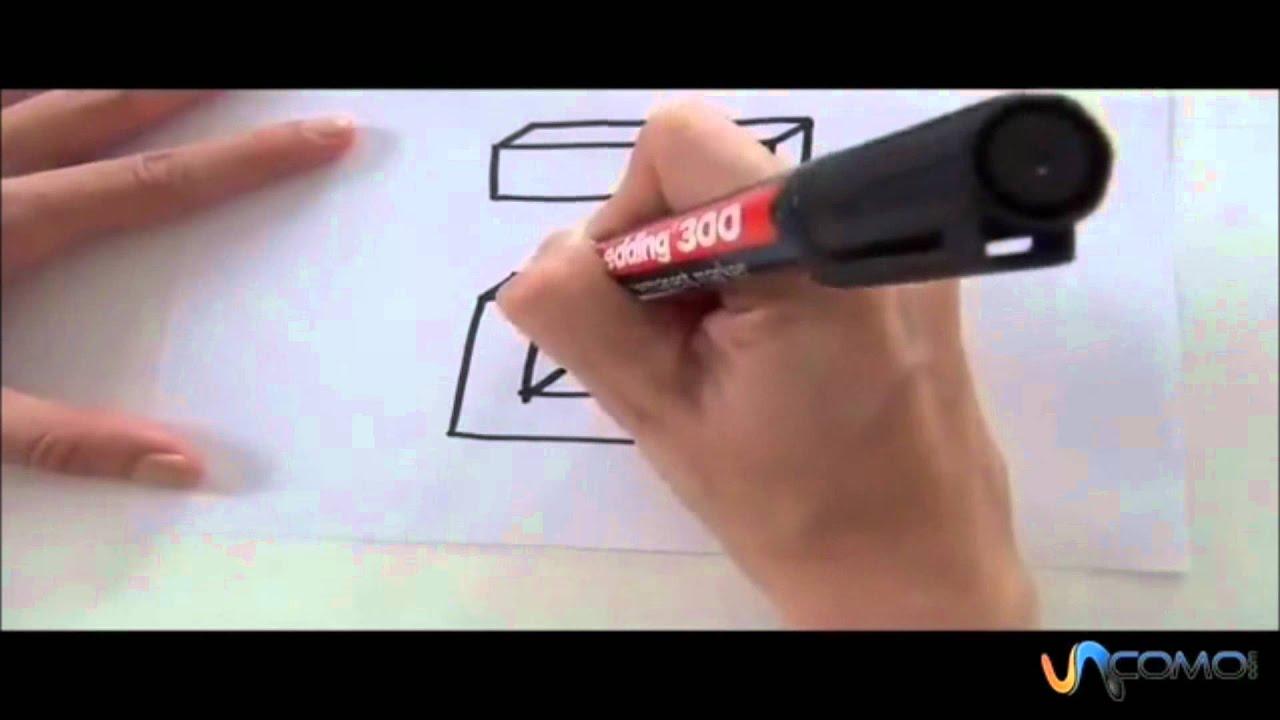 Come disegnare la lettera j in 3d youtube for Disegno 3d free