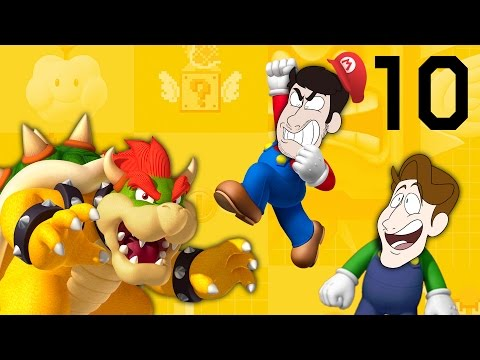 Super Mario Maker - EP 10: Power of Friendship | SuperMega
