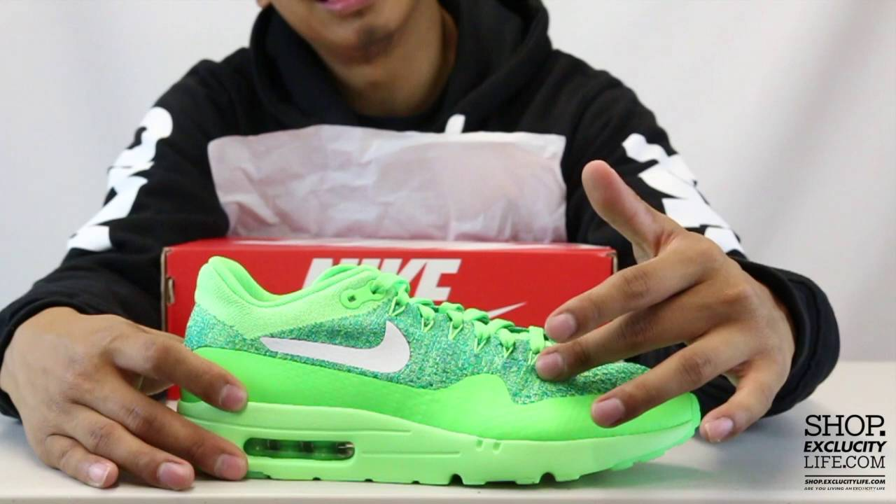 sports shoes 8e3bb e29d0 Women s Nike Air Max 1 Flyknit Ultra