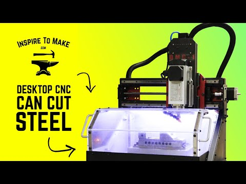 Cheapest Desktop CNC That can cut Steel