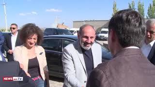 Նիկոլ Փաշինյանի և նրա տիկնոջ այցն Արմաս գինու գործարան